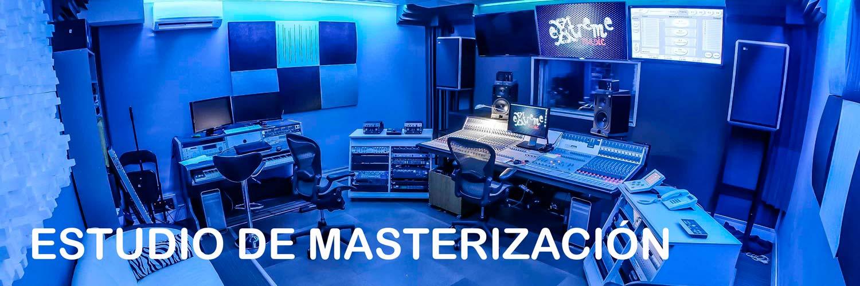Estudio de masterización