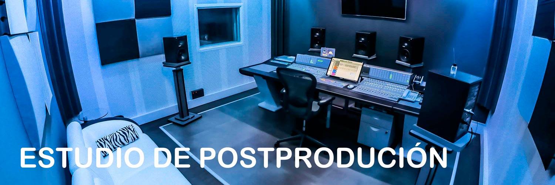 Estudio de postproducción